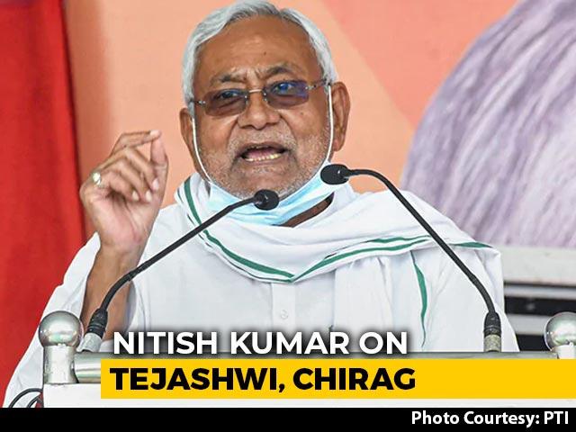"Video : ""They Have No Idea"": Nitish Kumar On Rivals Tejashwi Yadav, Chirag Paswan"