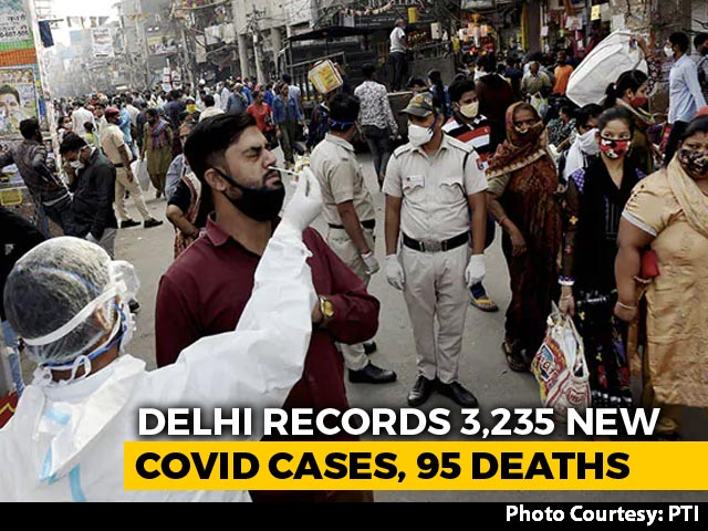 Video: 'Delhi Has Crossed Peak Of Third Covid Wave, No Lockdown': Minister