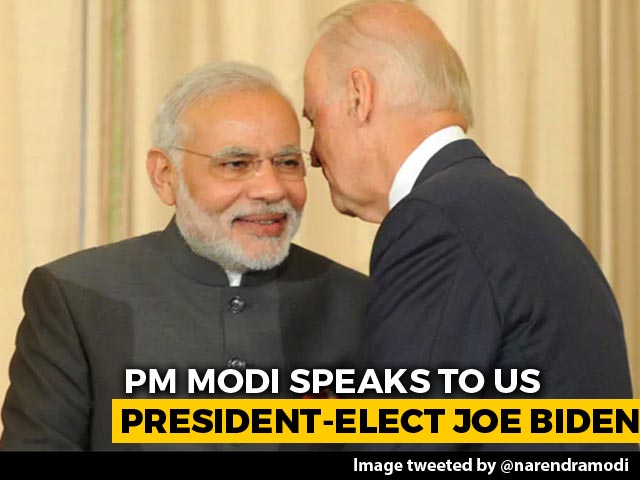 Video : Biden Calls PM, Both Reiterate Commitment To Strategic India-US Ties
