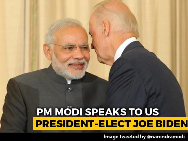 Video : Biden Calls PM, Both Reiterate Commitment To Strategic India-US Ties