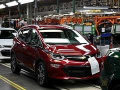 GM Recalling Nearly 69,000 Bolt EVs For Fire Risks