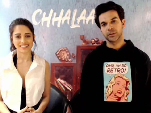 Rajkummar Rao And Nushrat Bharucha On Their New Film Chhalaang