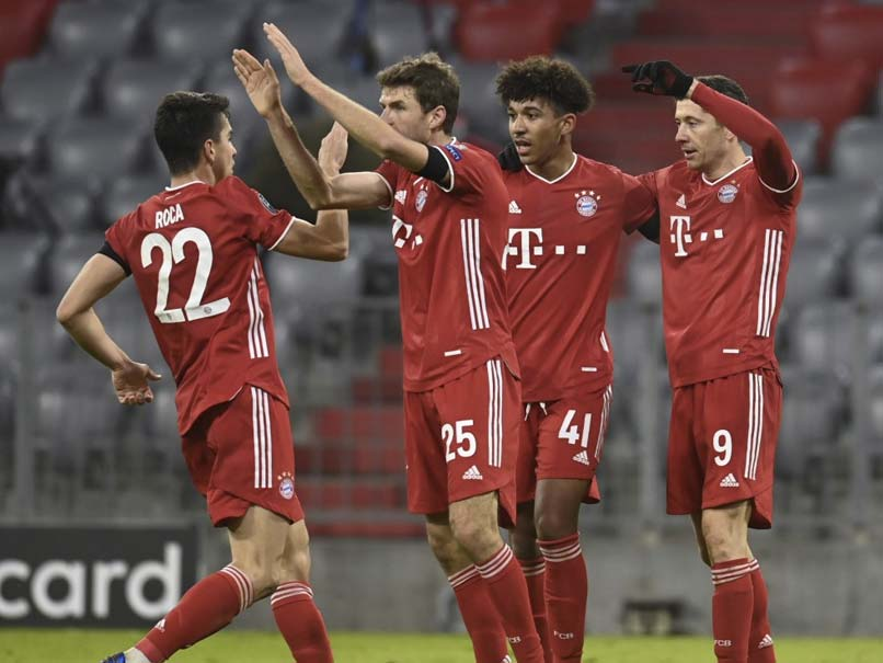 Champions League: Holders Bayern Munich, Manchester City Through To Last 16