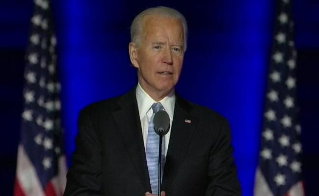 "Biden Welcomes Step Allowing For ""Smooth And Peaceful Transfer Of Power"""