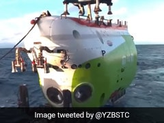 China Sends Vessel Into Earth's Deepest Ocean Trench With 3 Men On Board