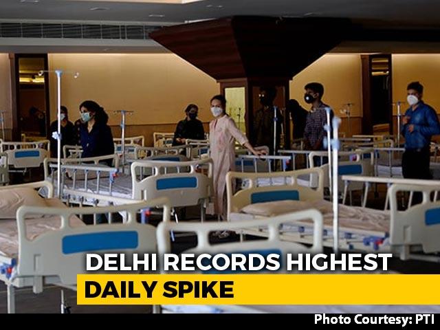 Video : Delhi Reports 7,745 Coronavirus Cases, Biggest One-Day Spike
