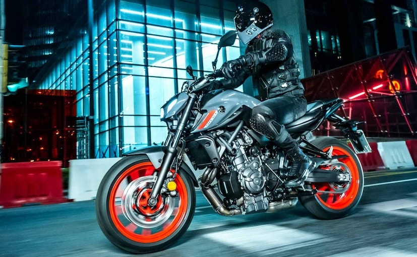 The 2021 Yamaha MT-07 is not expected to be introduced in India