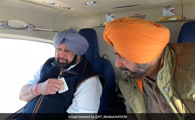 Amarinder Singh's Team Says He Won't Meet Navjot Sidhu Without Apology