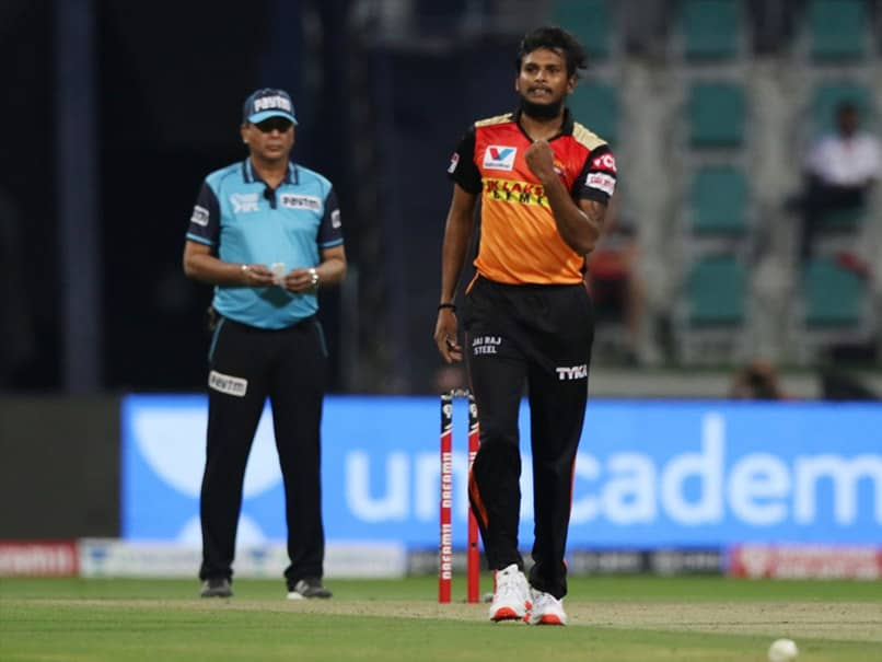 "T Natarajan Ruled Out Of IPL Due To Injury, SunRisers Hyderabad Wish Him ""Speedy Recovery"""
