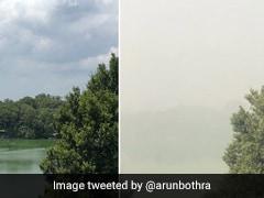 फिर बढ़ा प्रदूषण और दो महीने में ऐसे दिखने लगी दिल्ली, IPS बोला- 'हम लॉकडाउन में ही रहने के लायक...'