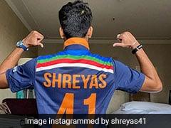 "Australia vs India 2020 Series: ""Pumped Up"" Shreyas Iyer Shows Off New India Jersey. See Pics"