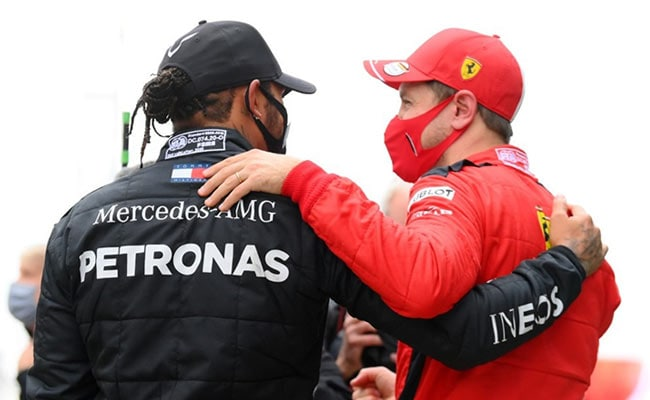 Hamilton and Vettel are two of the most successful F1 drivers of all time