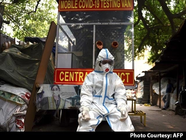 Video : Delhi's Daily Coronavirus Cases Cross 8,000 For First Time