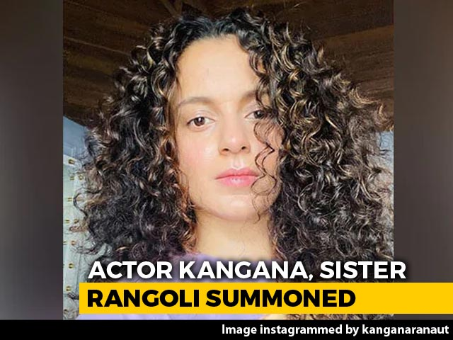 Kangana Ranaut, Rangoli Chandel Again Asked To Appear Before Mumbai Police