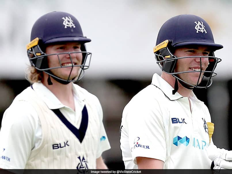 Will Pucovski, Marcus Harris Smash Waughs Sheffield Shield Record With 486-Run Opening Stand