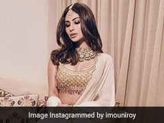 An Ivory Lehenga Never Looked As Good As It Does On Mouni Roy