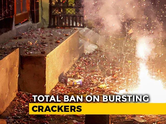 Video : Total Ban On Crackers In Delhi, Surrounding Areas Between November 9-30