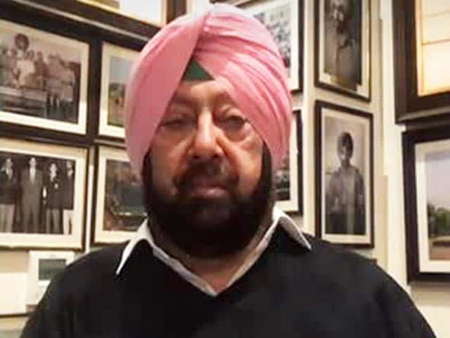 "Video : ""Won't Pick Up His Call"": Amarinder Singh Fumes At Haryana Chief Minister"