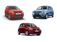 Maruti Suzuki Introduces New Festive Edition Variants On The Alto, Celerio And WagonR