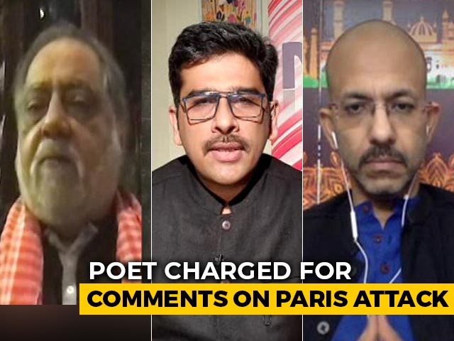 Video : Case Against Renowned Urdu Poet Over Remark On France Killings
