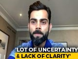 Video : Virat Kohli Speaks On Rohit Sharma's Injury