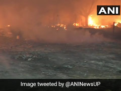 Fire Breaks Out At Slums In Ghaziabad, Several Evacuated: Police