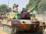 Video : Watch: PM Modi Takes A Tank Ride During Diwali Visit To Jaisalmer Soldiers
