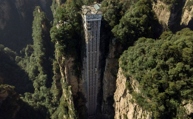 China Tourist Spot That Inspired Avatar Has World's Highest Outdoor Lift