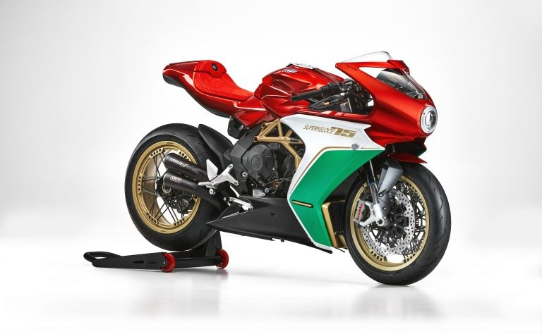 Only 75 bikes of the MV Agusta Superveloce 75 Anniversario will be offered on sale