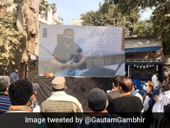 """Can't Let Things Worsen"": Gautam Gambhir Inaugurates Giant Air-Purifier"