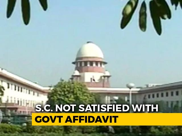 """Video : """"If There's No Regulatory Mechanism For TV, Create"""": Top Court To Centre"""