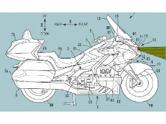 Patents Reveal Radar Technology For New Honda Gold Wing