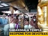 Video : Sabarimala Pilgrimage Starts In Kerala With Strict Covid-Safety Measures