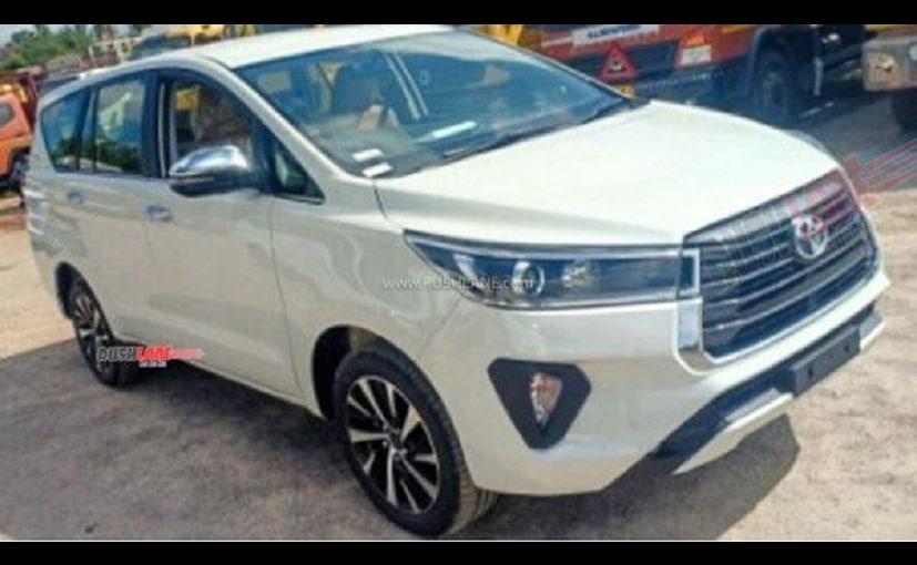The new Toyota Innova Crysta facelift is expected to be launched in the country soon