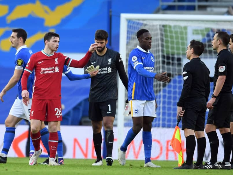 Premier League: Liverpool Frustrated By VAR As Brighton Snatch Late Equaliser