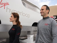 Virgin Hyperloop Tests 1st Human Ride, Its Top Executives Are Passengers