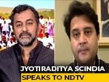 "Video : ""What's Wrong With Chanting '<i>Jai Shri</i> Ram'?"": Jyotiraditya Scindia"