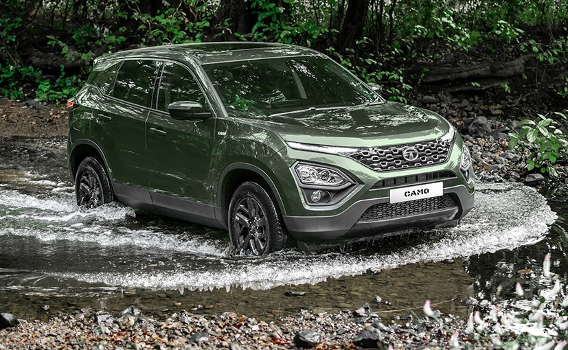 The Tata Harrier Camo Edition is available from XT Manual and XZ Automatic variants onwards.