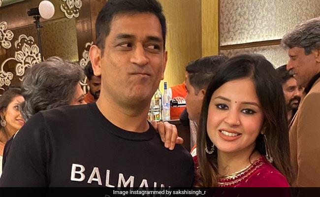 साक्षी धोनी ने खोले MS Dhoni के कई राज, बोलीं- 'किसी और का गुस्सा मुझ पर निकाल देते हैं...' - देखें Video
