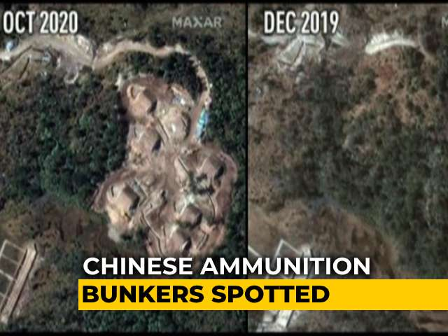 Video: New Chinese Ammunition Bunkers Seen 7 Km From 2017 Doklam Face-Off Site