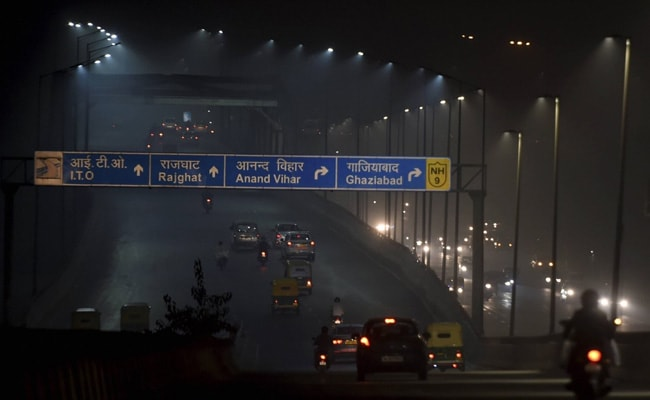 Delhi's Air Quality Turns 'Severe' Again For Sixth Time This Month