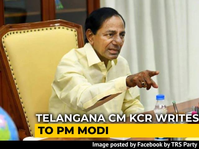 Video : Allow Regional Languages In Competitive Exams: KCR Writes To PM Modi