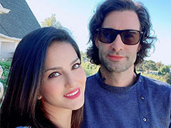 Sunny Leone Checked Into Los Angeles Just In Time For Diwali. Pics Here