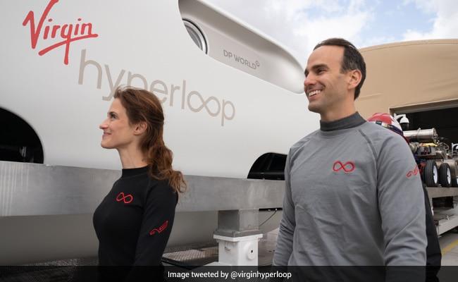 Virgin Hyperloop Tests First Hyperloop With Humans Aboard