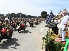 751 Hero Glamour Motorcycles Delivered To The Karnataka Police Department