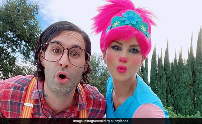 Sunny Leone And Daniel Weber Dressed Up On Halloween To Do Nothing. See Pics