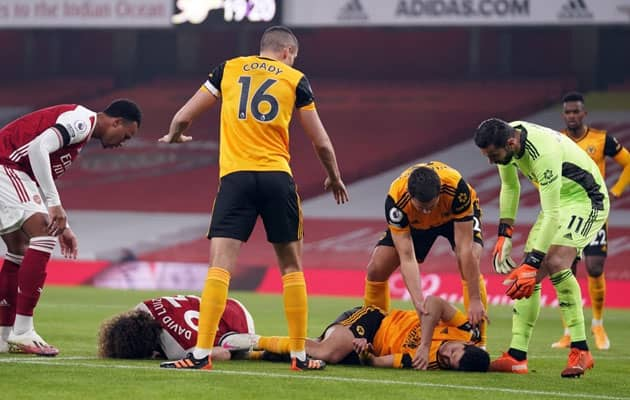 "Wolves ""Pray"" For Raul Jimenezs Recovery After Win At Arsenal"