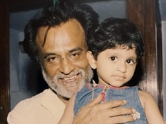 "This Pic Of Rajinikanth With A ""Little Princess"" Has An A R Rahman Connection"