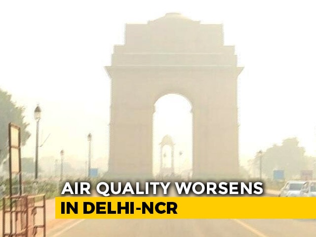 """Video : Delhi's Air Quality Worsens, In """"Severe"""" Category"""