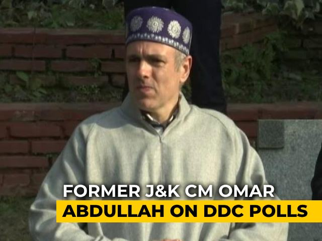 Video : Administration, Police Facilitating Horse-Trading After J&K Local Poll Results: Omar Abdullah